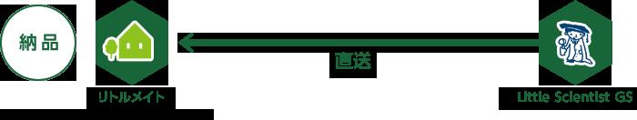 納品 リトルメイト←直送←Little Scientist GS ※お支払いは、代理店からの請求になります。