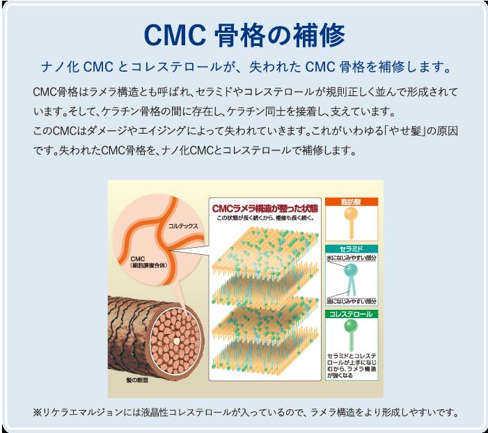 CMC骨格の補修